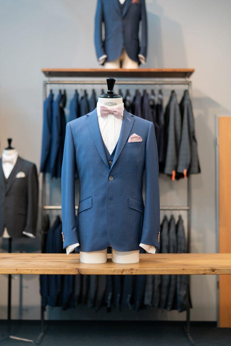 Benno | Blauer Anzug