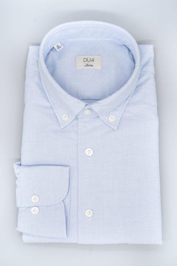 "Washed Hemd ""Nico"" Blau"