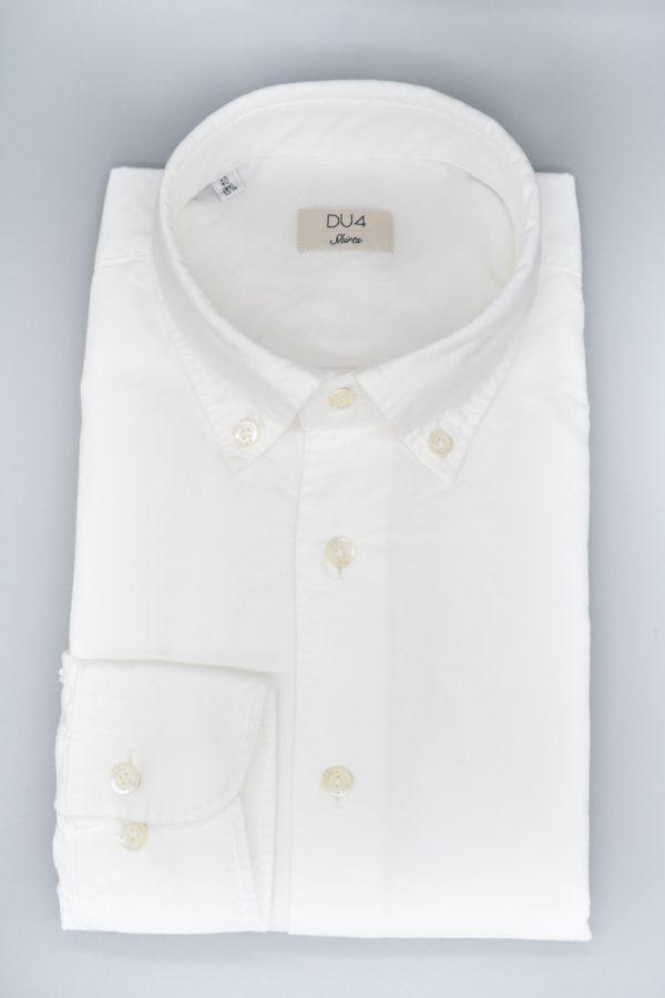 "Washed Hemd ""Nico"" Weiß"