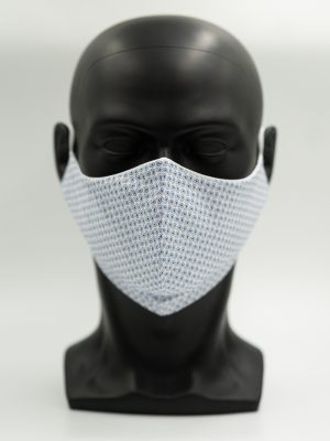 Mund- und Gesichtsmaske mit Paisly-Muster