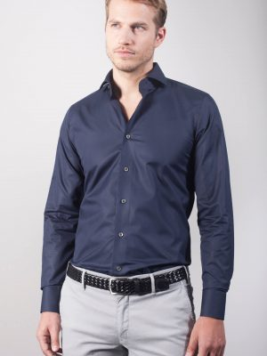"True Blue ""Henjo"" Slim Fit Hemd"