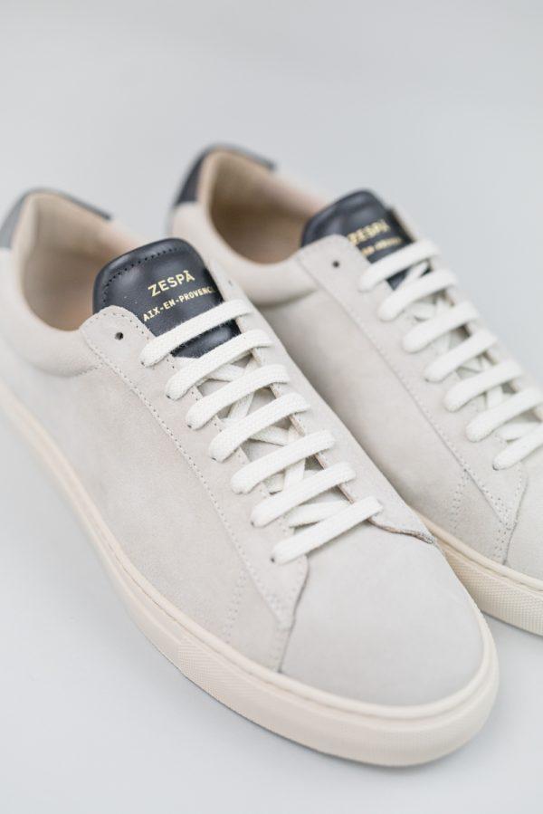 Zespa Sneaker offwhite velours