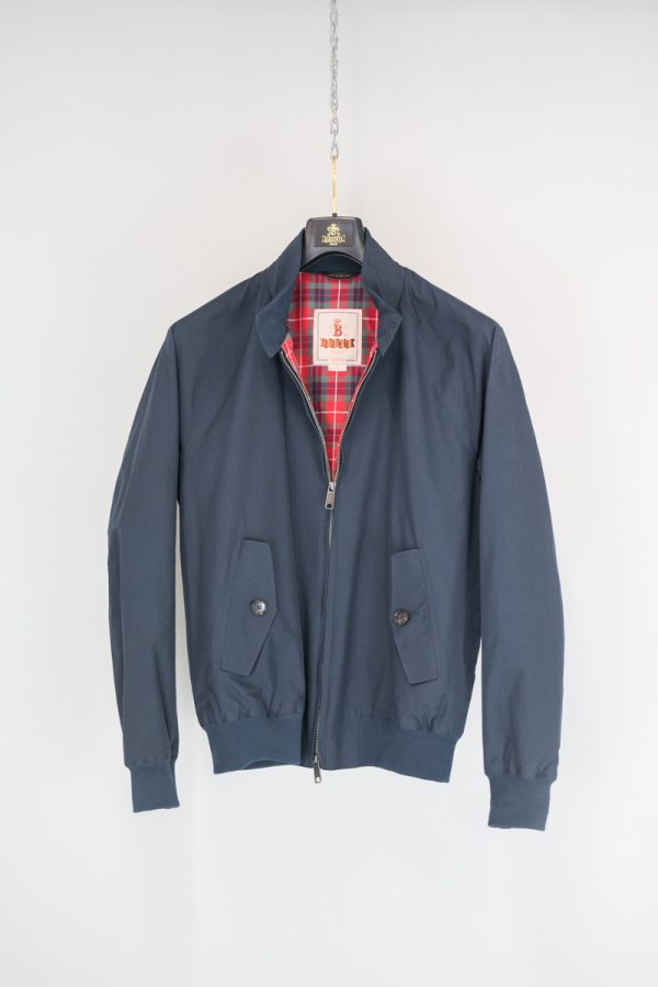 Baracuta G9 Harrington Jacke Navy