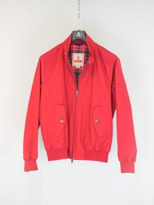 Baracuta G9 Harrington Jacke Dark Red
