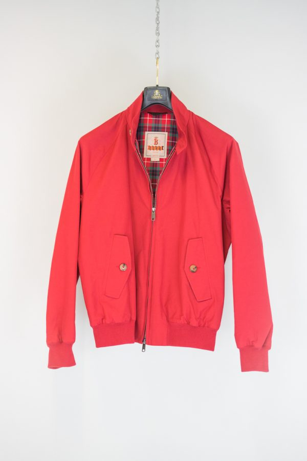 Baracuta G9 Harrington Jacke Dark Red