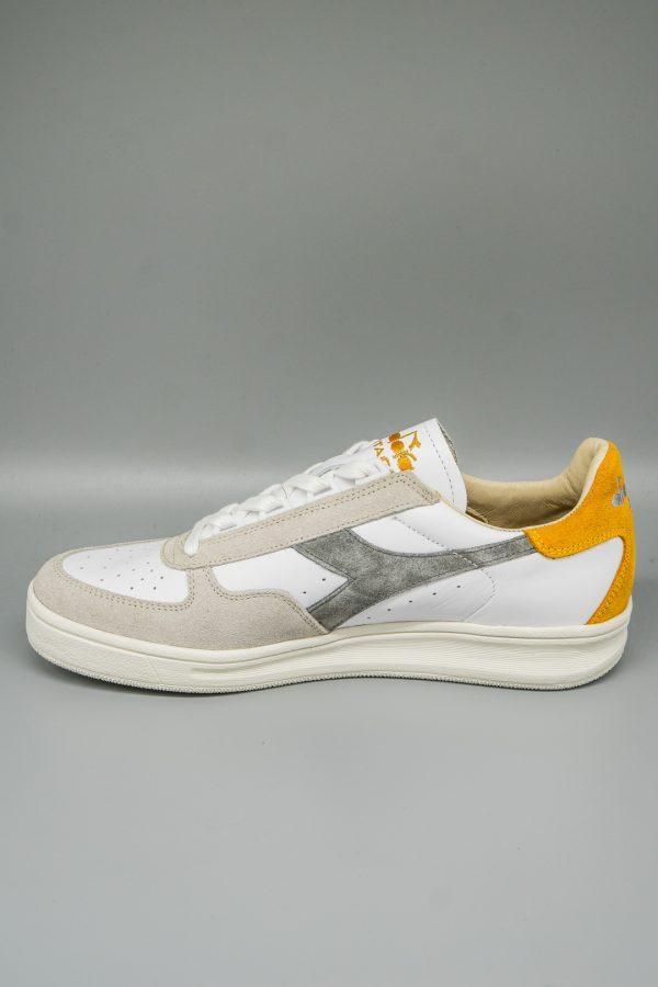 Diadora Heritage Sneaker B.Elite grau-gelb