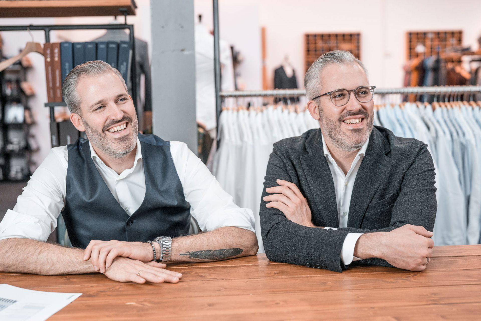 Emanuel & David im DU4 Store